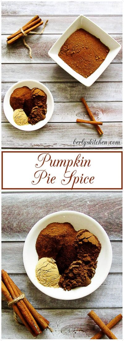 Pumpkin Pie Spice is an earthy spice combination of cinnamon, nutmeg, ginger, allspice, and cloves. #dyi #pumpkinpiespice #cinnamon #pumpkinpie #nutmeg