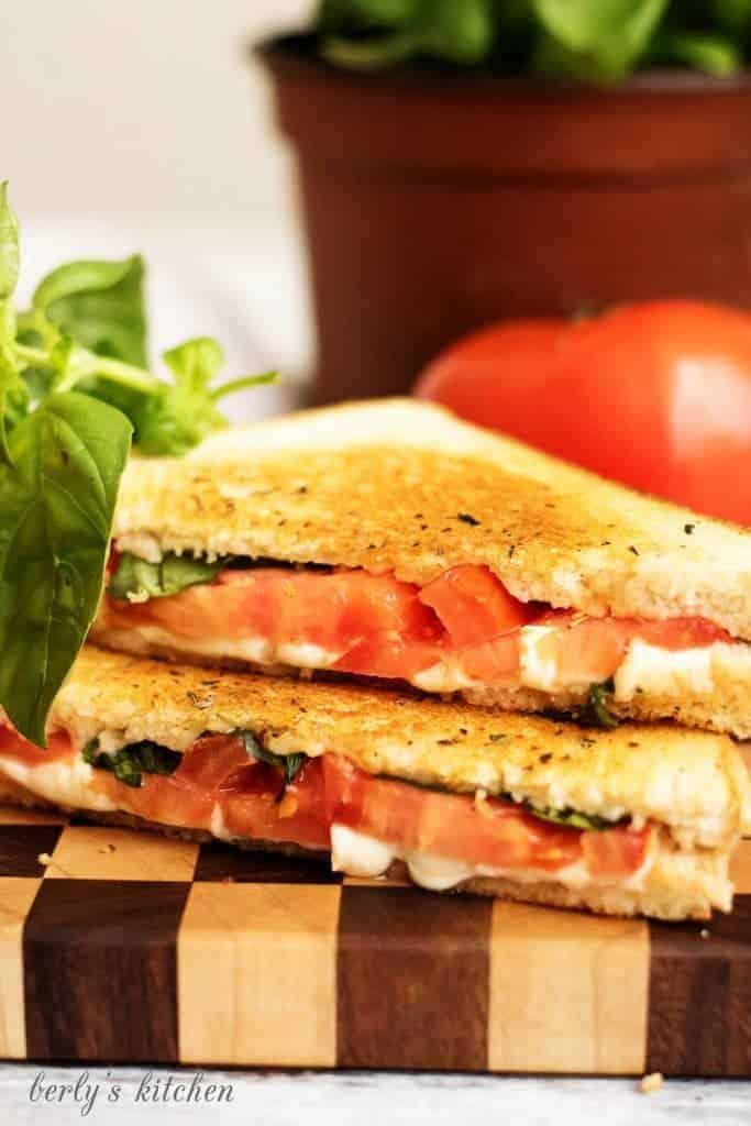 Grilled cheese margarita 9 easy margherita grilled cheese
