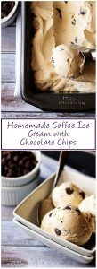 Kim's homemade coffee ice cream with chocolate chips is the simple but decadent dessert you have been searching for all Summer long.