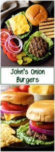 Homemade Hamburgers photos used on Pinterest.
