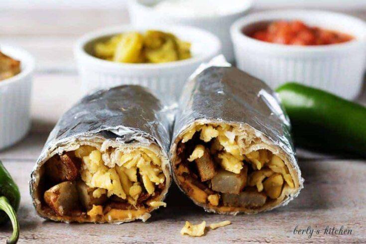 Make ahead breakfast burrito recipe 2 make ahead breakfast burritos