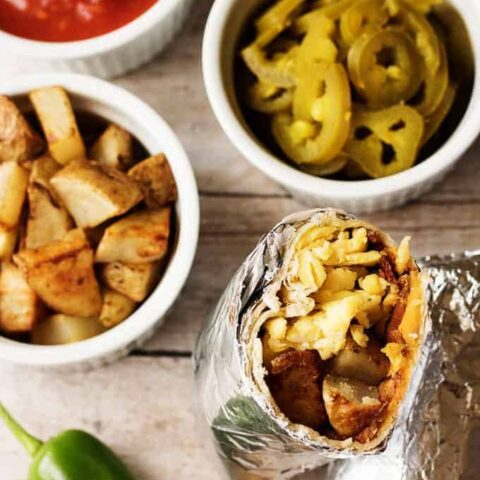 Make ahead breakfast burrito recipe 9 pantry recipes with substitutions
