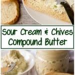 It's a savory and delicious topping for your potatoes or as a spread for toast. Our sour cream and chives compound butter has your sides covered.