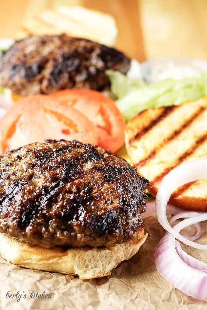 Bacon cheddar stuffed burgers 1 bacon cheddar stuffed burgers