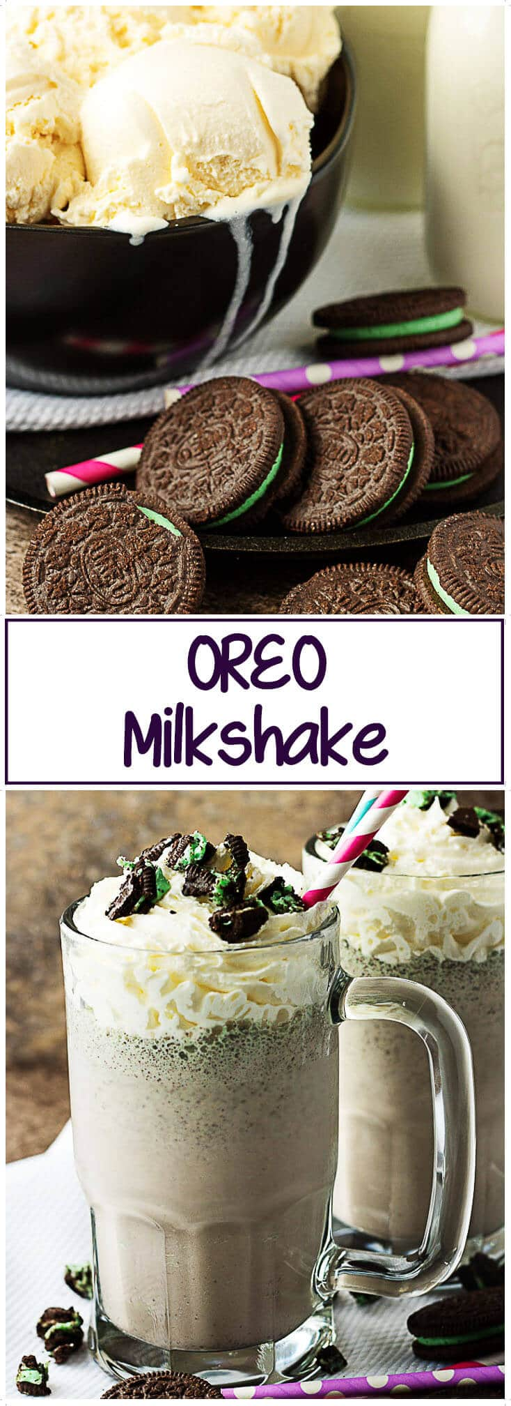 Ever wondered how to make the best #Oreo #Milkshake? It's easy, follow these steps and in less than 10 minutes, you'll have a #delicious cookie-inspired treat! #dessert