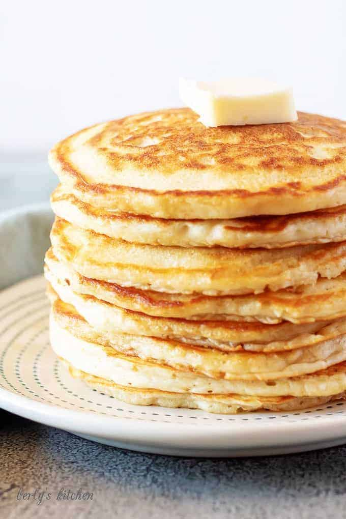 Fluffy american pancakes 3 fluffy american pancakes