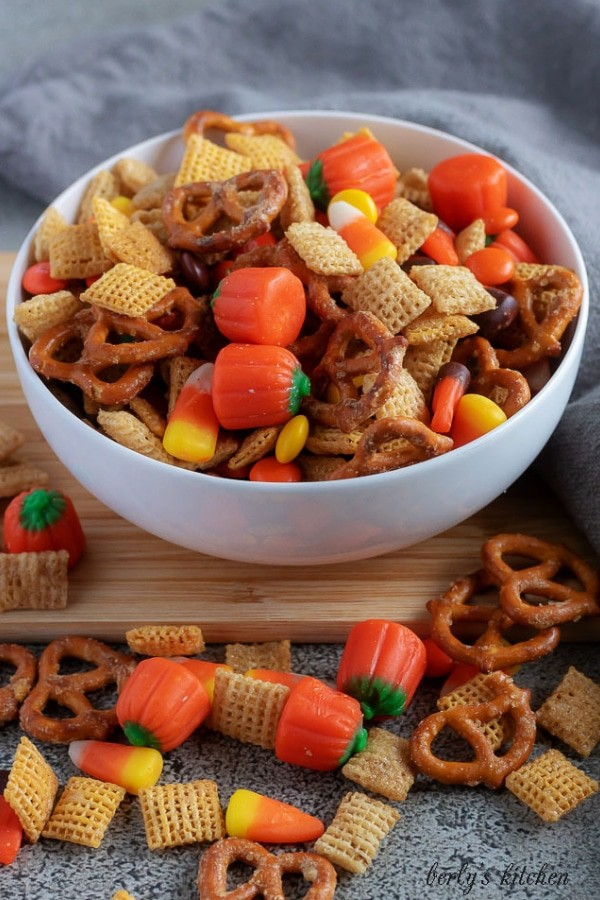 need for a festive halloween themed party mix that isnt going to gross out
