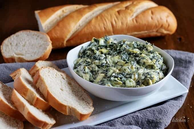 Slow Cooker Spinach Artichoke Dip Recipe