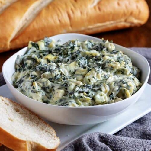 Spinach Artichoke Dip Slow Cooker Recipe