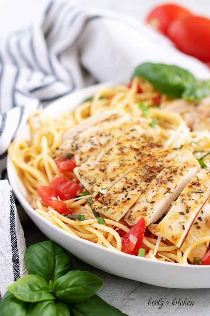 Bruschetta chicken pasta 4 bruschetta chicken pasta