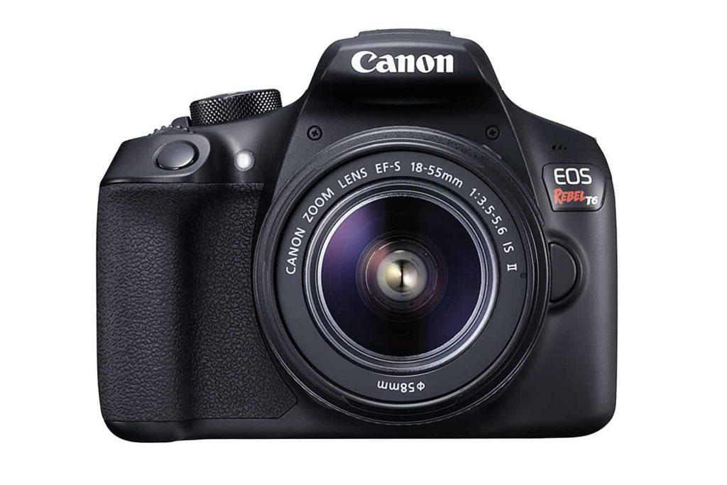 Canon T6 Camera