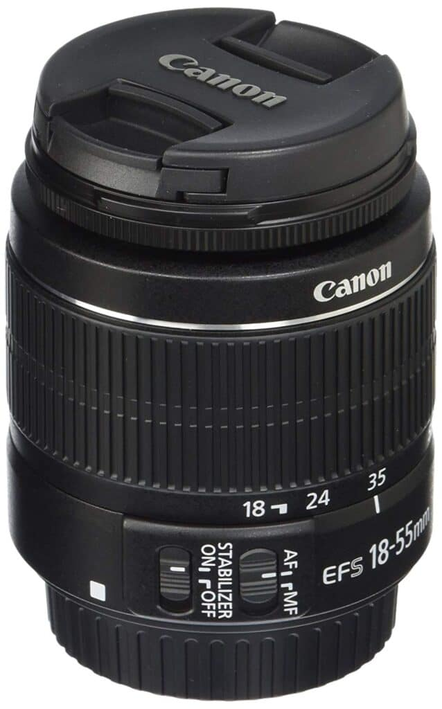 EF-S Canon 18-55mm lens