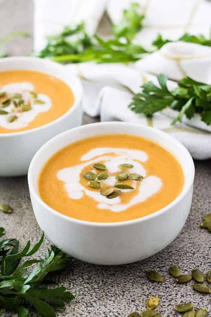 Squash soup 9 instant pot acorn squash soup