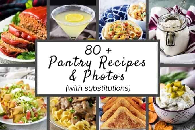 Eight photos showing a preview of the recipes.