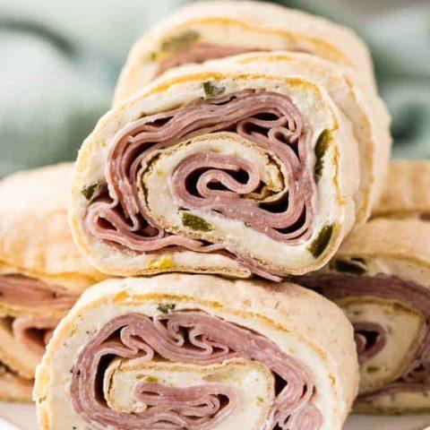 Ham pinwheels 12 37 game day recipes