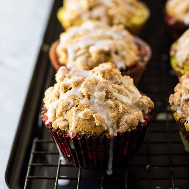 Pumpkin muffins featured image pumpkin spice creamer
