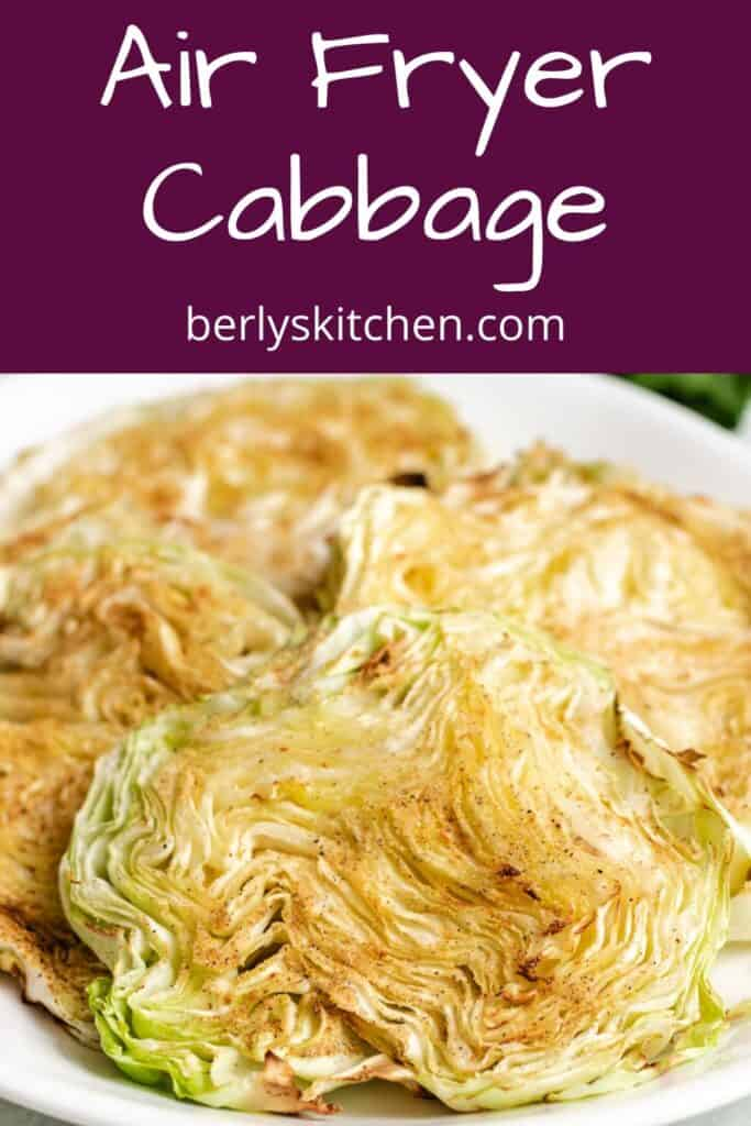 Cooked and seasoned cabbage served on a plate.