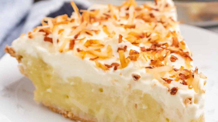Coconut pie featured image recipes