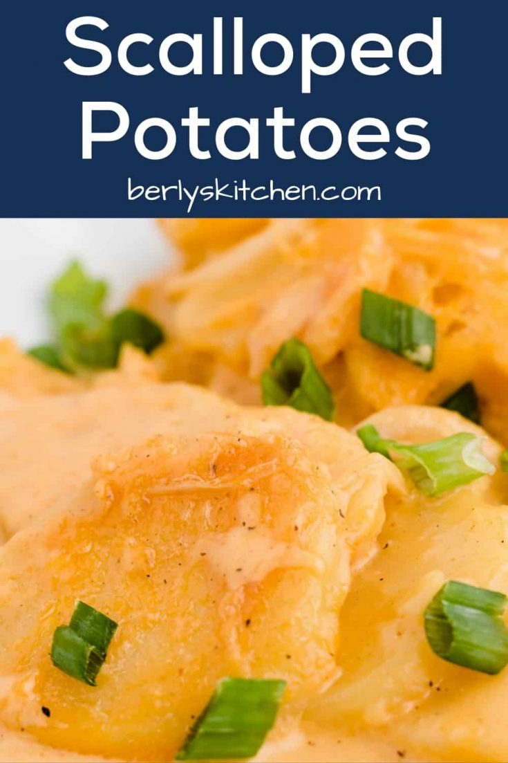 Scalloped potatoes pin 1 creamy scalloped potatoes