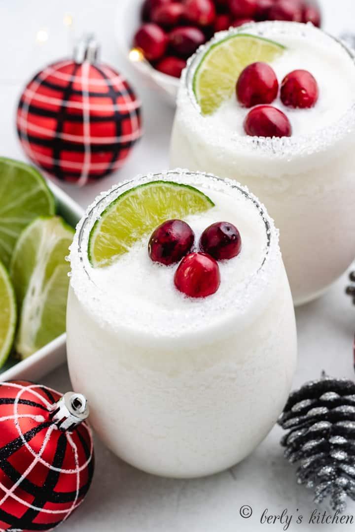 White christmas margarita 7 white christmas margarita