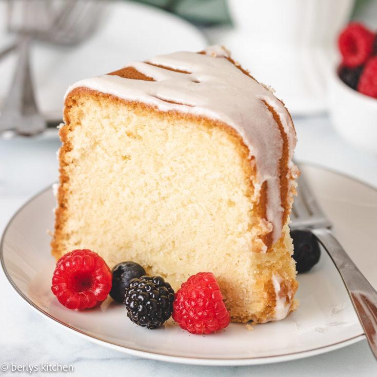 Lemon pound cake featured image lemon pound cake