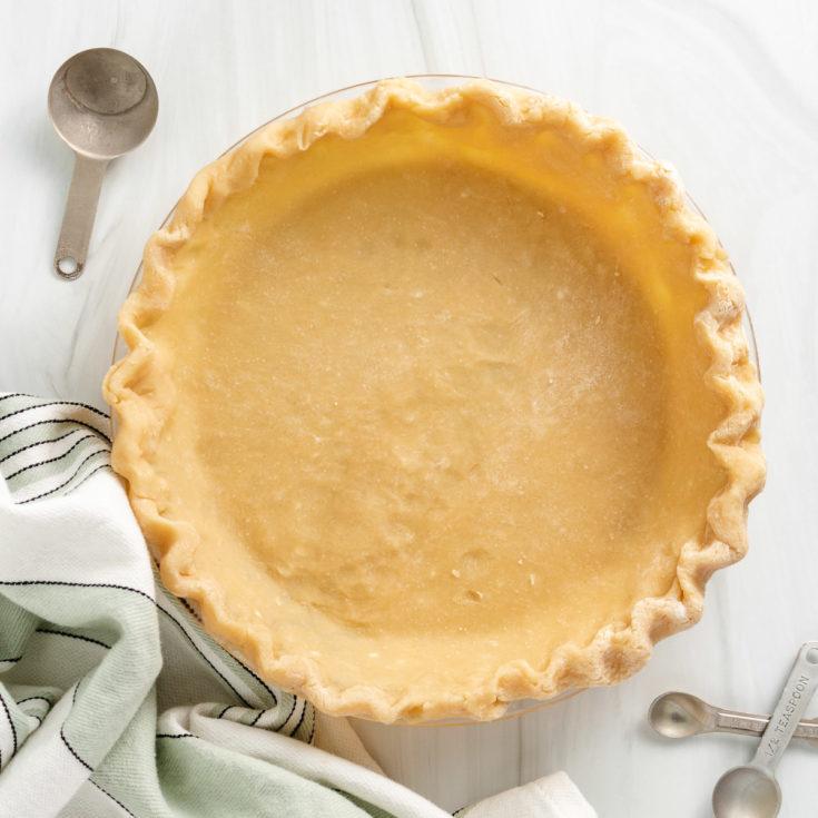 Pie crust with shortening featured image pie crust (with shortening)