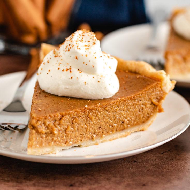 Pumpkin pie featured image pumpkin pie