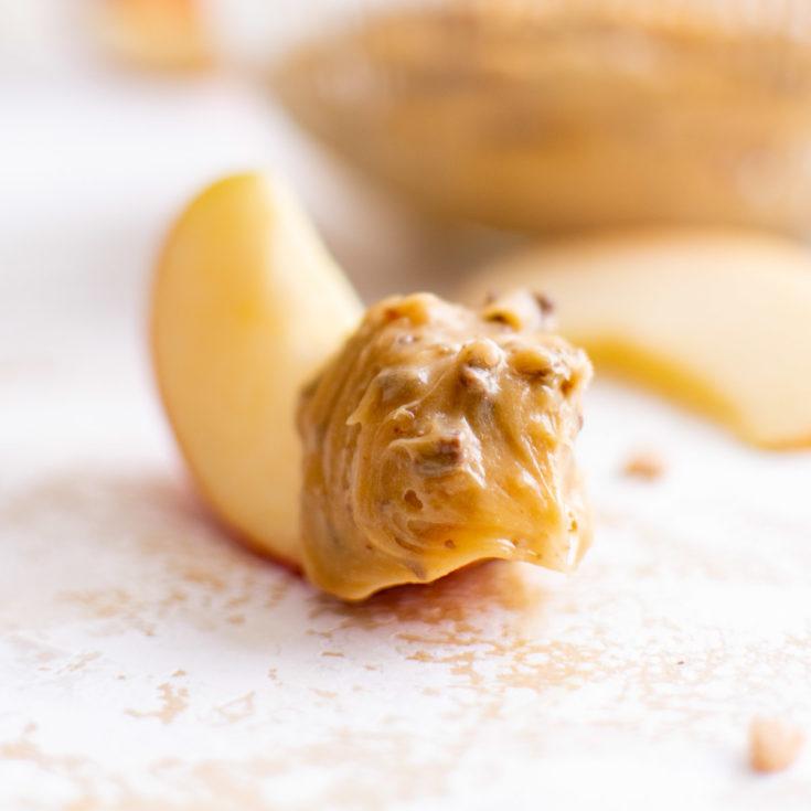 Caramel apple dip featured image caramel apple dip