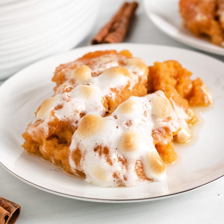 Sweet potato casserole featured image sweet potato casserole (with canned yams)